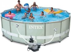 Каркасный бассейн Intex 54924 Ultra Frame Pool 488x122